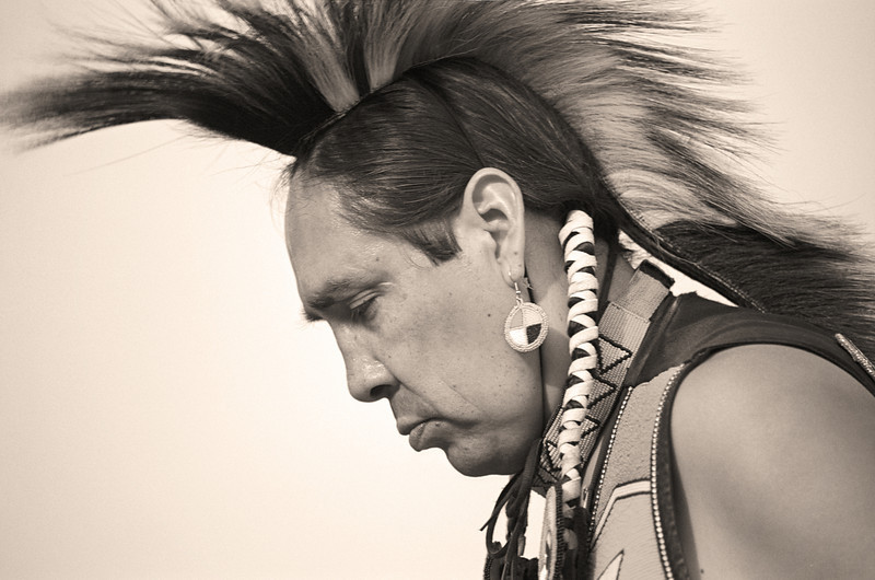 L6421 Native American Pow Wow, North American Indian Days, Browning, Montana