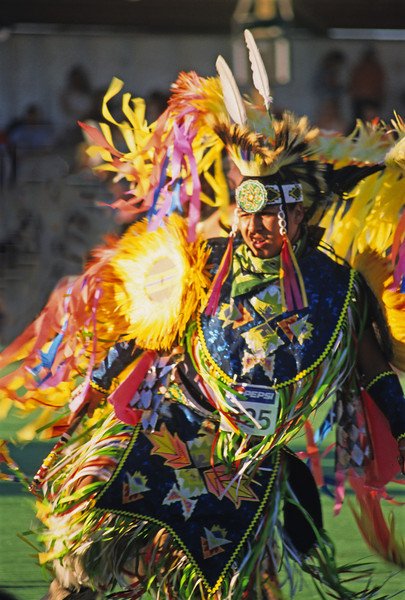 L6399 Native American Pow Wow, North American Indian Days, Browning, Montana