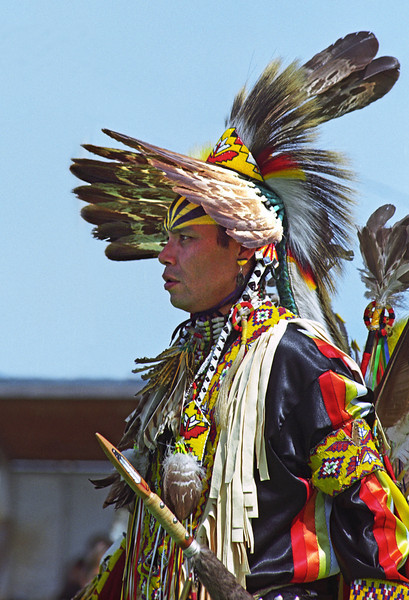 L6410 Native American Pow Wow, North American Indian Days, Browning, Montana