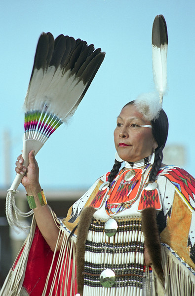 L6425 Native American Pow Wow, North American Indian Days, Browning, Montana