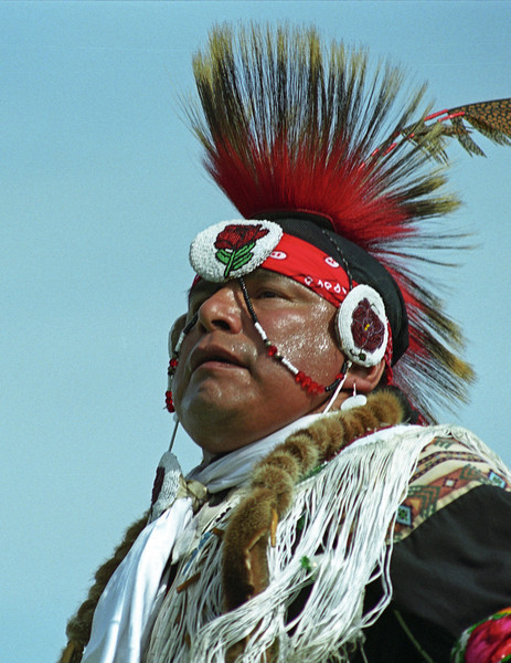 L6415 Native American Pow Wow, North American Indian Days, Browning, Montana