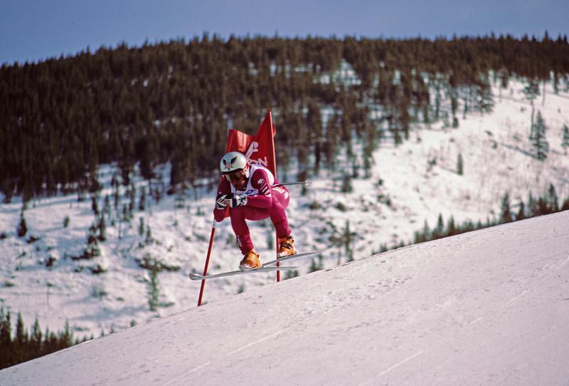 L6274 Downhill racer, Panorama Mountain, Alberta