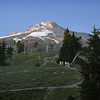 L623 Mt. Hood, Palmer Glacier, Ski lift, from Timberline Lodge, Oregon