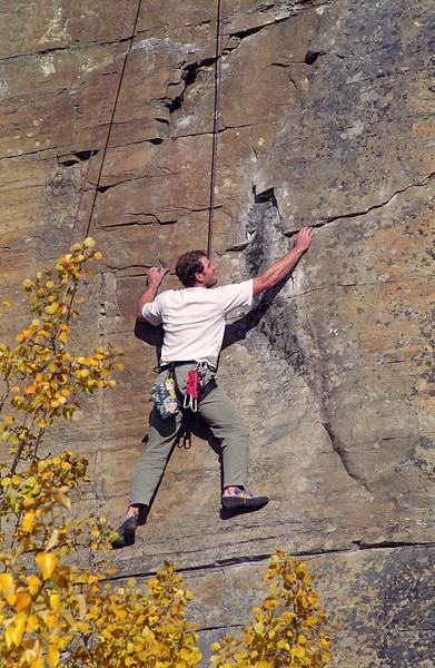 L6296 Climbing, Stone Hill, Highway 37, Eureka - Libby, Montana