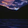 L6062 Evening sky, Bull Lake, Montana