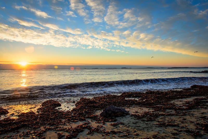 Winthrop Beach Sunrise