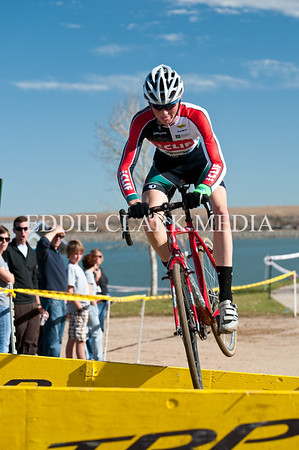 Sometimes it's faster to bunny hop the barriers like Robin Eckmann, but not crashing while doing so is key.