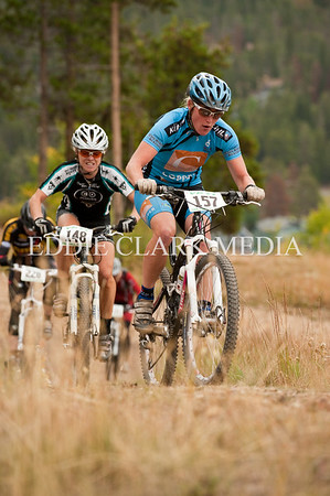 Jaime Brede tightens the screws on the Cat1 womens field.