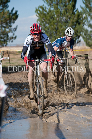 Mud pit mastermind Aaron Bouplon leads Chad Melis through his own epic course creation.