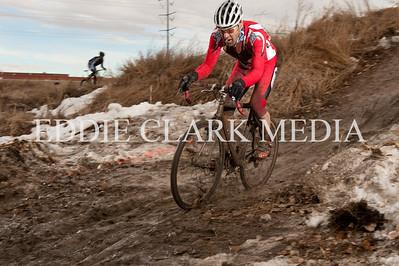 Rodrigo Gilmoreno Demora powers through the last lap of mud.