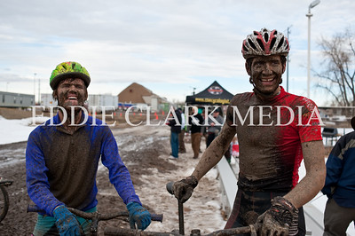 Bikes plus lot's of mud equals happy faces and good times.
