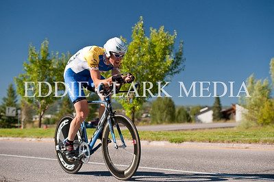 Greg Krause of Groove Subaru took a speedy second place in the Pro time trial.