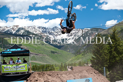 Canadian Logan Peat backflips for the judges and because it's fun.