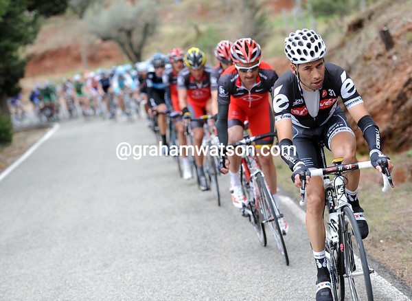 Inigo Cuesta now winds up the chase, but is it for Shack or Cervelo..?