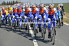 Rabobank show their intention now, chasing steadily and keeping that gap within reach later in the day...