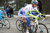 Roman Kreuziger is locked in his own battle with Damiano Cunego and Thomas Voeckler...