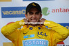 Wink, wink - Alberto Contador knows he's on to a good result in Paris-Nice...