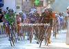 Alejandro Valverde beats Peter Sagan to second place - another bonus for Spanish cycling...