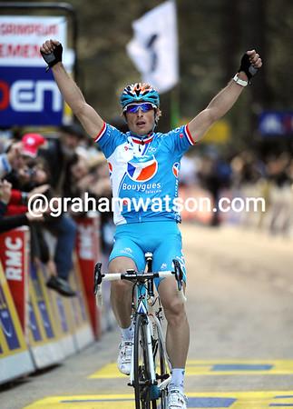 Perrick Fedrigo has won stage one of the Criterium International - eleven seconds ahead of Machado...