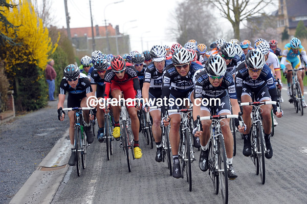 Saxo Bank has emerged as the most determined team in pursuit...
