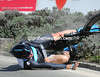 It wasn't the Sky that was the limit for Christopher Froome today - the British rider is out of the Tour de Romandie after this crash...