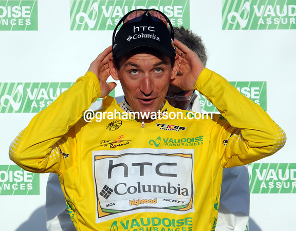 If the hat fits - Marco Pinotti starts the week as leader of Romandie, but he's actually dreaming of the Giro d'Italia...