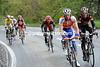 Denis Menchov applies the coup-de-grace for Rogers with five-kilometres of climbing left...