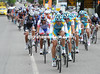 The speed has sent 100 riders in front, with Astana looking formidable...