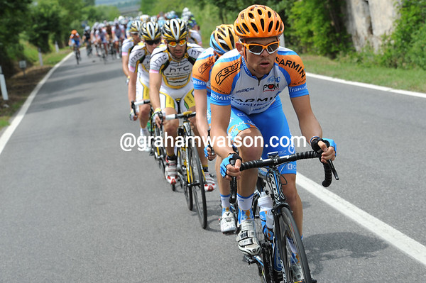 Jack Bobridge is also in service for the seniors at Garmin...