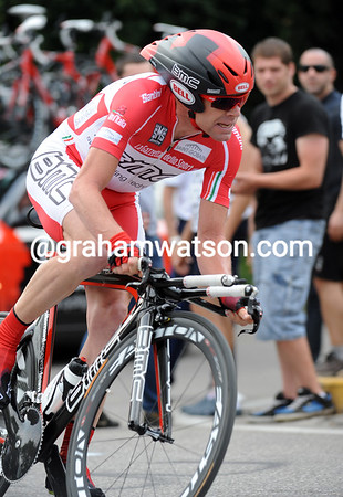 Cadel Evans took 4th place at 22-seconds - but the Australian will be disappointed in taking 5th overall...
