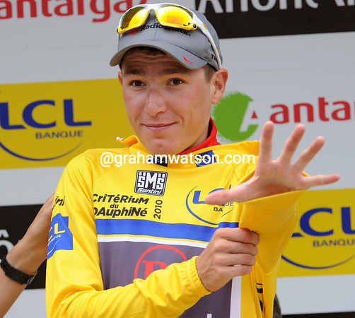 Jani Brajkovic is less than 24 hours away from his challenge with Alberto Contador - can he win the Dauphiné..?