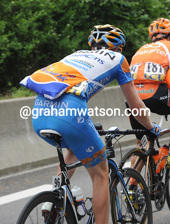 Yes, he has - Peterson has taken a Rabobank lunch instead of a Garmin lunch..!