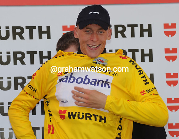 Robert Gesink is the new race-leader of the Tour de Suisse, but can he hold on to it..?