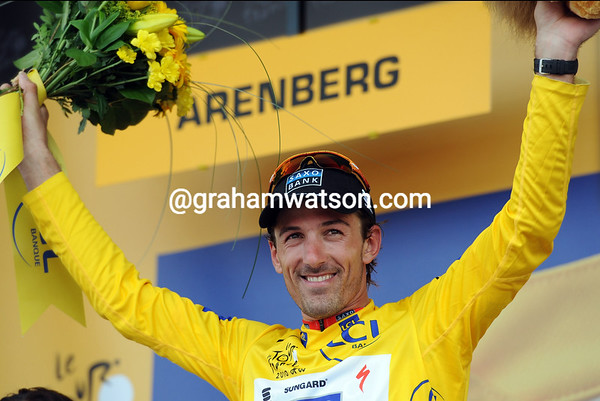 Fabian Cancellara has become race-leader again, everyone is a winner today!