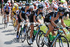 Team Sky take charge of the peloton on the Ramaz - Flecha leads Lovkvist and Wiggins in a show of acceleration...