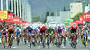 The sprint fills the entire road in Murcia - Bennati, Davis, Hushovd, Fernandez and Bole are going for it...
