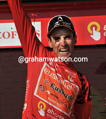 Ya! Igor Anton is the new race-leader of the Vuelta...