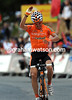 Igor Anton wins stage eleven to Estacion Pal after passing Mosquera in the last 500-metres...