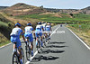 This is Team Garmin's view of La Rioja wine country as they start to chase a little...