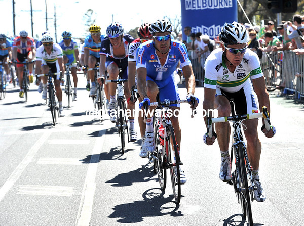 Stuart O'Grady is in there, as is Gerrans and Evans...