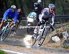 Philippe Gilbert has attacked on the descent - he has Nibali and Uran with him, but not for much longer..!