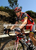 Levi Leipheimer has swapped his illegal '28' Tour de France jersey for the familiar black and red of Radio Shack...