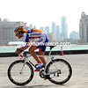 Dennis Van Winden launches himself into the Prologue against a modern-day Doha landscape...
