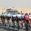 There's no-where to hide as the splitting peloton fights to get back together again...