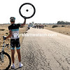 Help! Joost Posthuma has a flat tire, no service car, and is on his way to losing 17-minutes today...