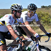 Are Mark Cavendish and Geraint Thomas discussing the cycling or the cricket, in Australia..?