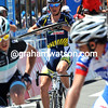Alberto Ongarato takes 50th place despite catching a flying wheel in the sprint-crash..!