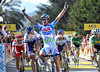 Germany's Simon Geschke wins stage two of the Criterium International - thanks to Garmin..!