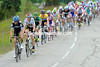 Team Sky seem to have the help of Team Garmin as the peloton chases the escape...