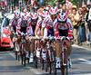 "Team Katusha took 20th place at 1' 04""..."